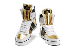 2011 Supra New High Tops Gold White Skate Shoes Fly Shoes, Skate Shoes, Men's Shoes, Shoe Boots, Hype Shoes, Shoes Men, Running Shoes, Supra High Tops, Supra Shoes