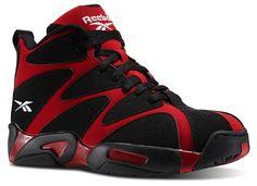 54857fdbe6c Reebok Classic Kamikaze I  Black Red