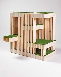 Inspired Outdoor Cat Shelters by Architects for Animals Kitty Condo by RNL