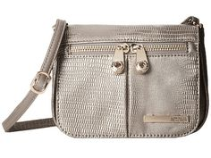 Kenneth Cole Reaction Wooster Street Small Flap Crossbody Black - 6pm.com
