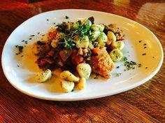 Chicken Scallopini with Potato Gnocchi