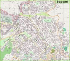 Large detailed map of Ascoli Piceno Maps Pinterest Italy and City