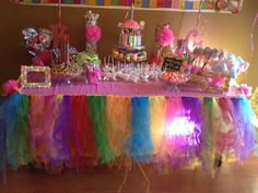 1st Birthday Candyland Party Birthday Party Ideas | Photo 1 of 57 | Catch My Party