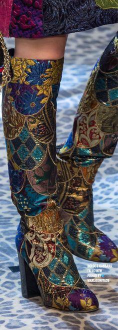 Dolce & Gabbana Fall17 RTW Details