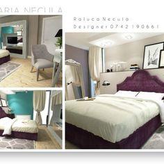 Neoclasic _____________________________________________  #brasov #designinterior #classy #interior #design #play  #3D #positive #bedroom #furnituredesign #dormitor #colors #white #modern NECULA RALUCA MARIA DESIGNER INTERIOR BRASOV RALU.NEC@GMAIL.COM ralucanecula.portfoliobox.net