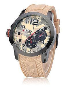 curren Herrenuhr Anzahl und Streifen Marken mit runden Zifferblatt Armband - http://uhr.haus/weiq/curren-herrenuhr-anzahl-und-streifen-marken-mit