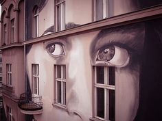 Rone paints three images of a woman in Berlin