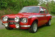 British Sports Cars, Cool Sports Cars, Cool Cars, Escort Mk1, Ford Escort, Retro Cars, Vintage Cars, Automobile, Ford Sierra