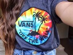 I have two pair of vans working on a collection!!! And I need this shirt