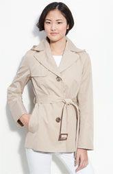 need this hooded rain coat! $128