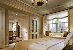 Closet doors and doors between bedroom and LR