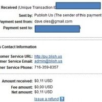 This page is about my  Payment Problem in Wikinut