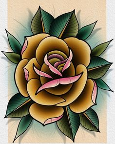"53 Likes, 4 Comments - Darin Blank (@darinblanktattoos) on Instagram: ""Rose from today that I would love to tattoo."""