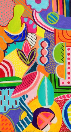 Obraz Abstract Pop 2 - Zuzana Zachar