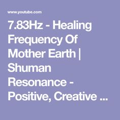 Greetings dear human being. We have combined the frequency of earths magnetic field with some powerful brainwave music. Earth's Magnetic Field, Brain Waves, Health Matters, Mother Earth, Self Help, Reiki, Healing, Positivity, Creative