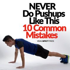 NEVER Do Pushups Like This - 10 Common Mistakes
