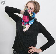 Gag scarf Damsels In