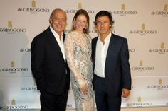 Fawaz Gruosi with Sara and Ugo Colombo at de Grisogono's 20th Anniversary Celebration http://balharbourshops.com/social-scene/event-pictures/2431-de-grisogono-celebrates-20-years-with-extravagant-soiree-for-bal-harbour-boutique