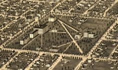 Take a fly-through tour of Ann Arbor circa 1880 Ann Arbor, City Photo, Tours