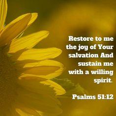 Sustain me...