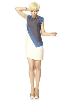 French Connection £130 Sporty & Colour Blocking, flattering and will skim over your body