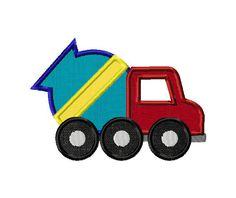 Applique Cement Truck