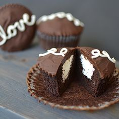All the flavors of a Hostess CupCake, but richer, more decadent, with the unbeatable fresh homemade taste.
