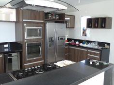 Móveis & Design o Bom Gosto em sua casa: cozinha moderna alto padrão