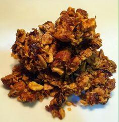 Paleo Blog: Paleo Nutty Granola