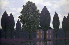 René Magritte - The Mysterious Barricades, 1961