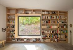 Lots of room for books here
