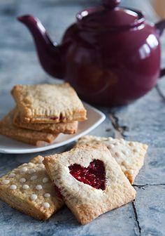 Raspberry Strudels: Prep time: 45 Minutes plus 45 minutes chilling  Cook time: 15 minutes plus 15 minutes cooling  Makes: 7 Pastries