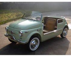 Modello: Fiat 500  Anno: 1959  Carburante: Benzina  Trasmissione: Manuale    http://annunci.ebay.it/annunci/auto/bergamo-annunci-castelli-calepio/fiat-500-jolly-ghia-d-epoca/11751707