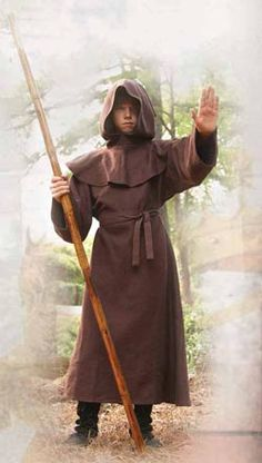 Monk's Robe for Children: Renaissance Costumes, Medieval Clothing, Madrigal Costume: The Tudor Shoppe