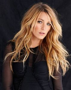 Most up-to-date Free Balayage hair blonde blake lively Tips Summer's on the way! Plus our own thoughts try smarter, less heavy, extra thrilling as well as spa Blake Lively Haircut, Blake Lively Hair Color, Blake Lively Makeup, Blake Lively Hairstyles, Balayage Hair Blonde, Brown Blonde Hair, Wavy Hair, Afro Hair, Curly Hair Styles