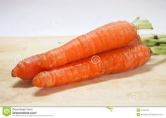 Some carrot on a desk