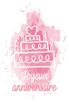 anniversaire Happy Birthday Ma, Birthday Thank You, Birthday Wishes, Invitation Cards, Invitations, Birthday Wallpaper, Tomorrow Is Another Day, I Believe In Pink, Couple Wallpaper