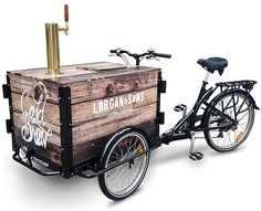 Icicle Tricycles builds Cold Brew Bikes! Our Cold Brew Coffee Bike Cafe is the perfect low-overhead cold brew coffee business. Pour coffee from a tap!