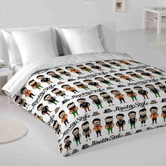 Hipster Cl Man Single Duvet Cover Set Achica