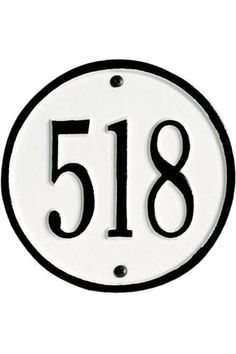PETITE DOVER Address Plaque Lawn Marker House Sign Numbers wall Custom Made