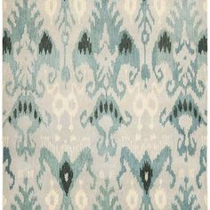 Scarlett Area Rug, Blue, Home Decorator's Collection