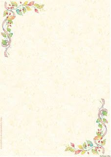 Papéis de Carta e Envelopes - Papel de Carta e Envelope - Papel de Carta e Envelope para imprimir: Flores - Floral com envelopes