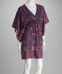 af0261c105ce2 Angie Apparel Purple   Pink Surplice Dress. Surplice DressSwimsuit  CoverCover UpKaftanDiy ...