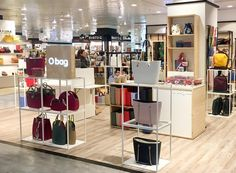 "2136a1556958 O bag on Instagram: ""The third O bag store in El Corte Ingles in Spain  opened last week in Coruna 🇪🇸 We are glad to show you our colorful corner  ..."