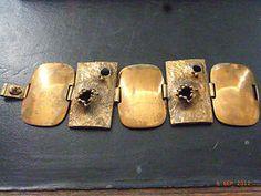 1970s finland bronze modernist bracelet