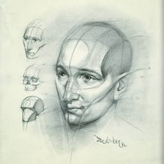 "6,686 Me gusta, 20 comentarios - FERHAT EDİZKAN (@edizkan) en Instagram: ""Reilly Method Portrait Drawing #artist #illustration #drawing #dessin #desen #portraitdrawing…"""