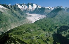 Aletsch Arena - Riederalp Bergen, Mountains, Nature, Travel, Switzerland, Naturaleza, Viajes, Trips, Nature Illustration