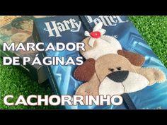 DIY - Marcador de Páginas / Lembrancinha Cachorrinho de Feltro - Passo a Passo - YouTube