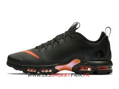 on sale 2faea 209b0 Nike Air Max Plus Tn Ultra SE AQ0242-001 Chaussures Nike Basket Noir Rose  Pas