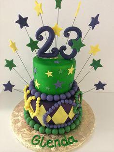 Mardi Gras   Stars   Beads   Gallery   Sugar Divas Cakery   Orlando   Cupcakes   Custom Cakes  Www.sugardivascakery.com